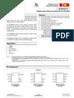 Voltage Regulator ic AP3968 datasheet