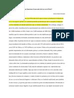 Ensayo-como Funciona El Mercado Del Oro en El Peru