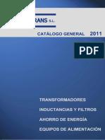 CatalogoProductos - TORYTRANS  2011