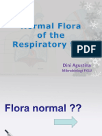 03. Normal Flora of the Respiratory Track