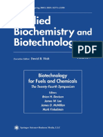 (Applied Biochemistry and Biotechnology) Bonnie R. Hames, Steven R. Thomas, Amie D. Sluiter, Christine J. Roth (Auth.), Brian H. Davison, James W. Lee, Mark Finkelstein, James D. McMillan (Eds.)-Biote