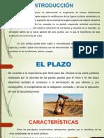 el plazo y el cargo 1.pptx
