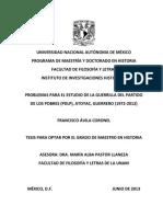 problemas para el estudio de la guerrilla del partido de los pobres