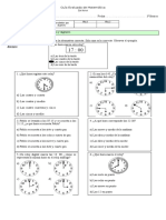 Prueba de Matemática, la hora 3º.doc