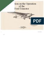 Manual Ford Trimotor