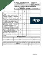PC-Fr19 Formato Lista Chequeo Contratación Directa - Proveedor Exclusivo V1