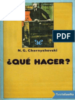 Que Hacer - Nikolai Chernyshevski
