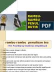 Rambu-2 Penulisan Soal