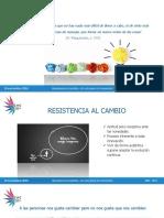Resistencia Al Cambio. Un Reto Para La Innovacion