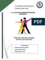 Plan de Negocio Dance