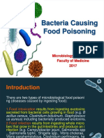 Microbiological Food Poisoning(1)