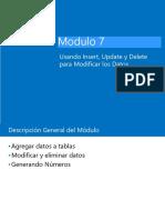 Modulo 7 Usando Insert, Update y Delete para Modificar los Datos.pdf