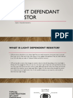 Light Defendant Resistor