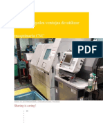 Las 6 Principales Ventajas de Utilizar Maquinaria CNC