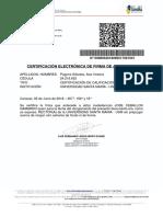 GTU Notas Certificadas A
