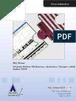 PLC-Driver (V5) Schneider Modicon TSX Quantum Momentum Compact - Modbus TCP-IP