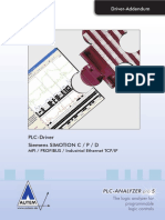 Plc-driver (v5) Siemens Simotion - Mpi Profibus Industrial Ethernet Tcp-ip