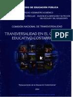 Transversalidad en El Curriculo Costarricense