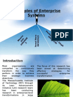 Principles of Enterprise Systems