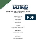 Métodos de Gestión Del Efectivo y de Inventarios(2)