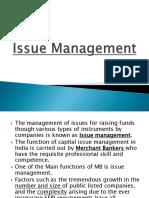 Chp 2 - Issue Management