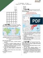Simulado 01 (Geografia - 9° Ano - Blog do Prof. Warles)