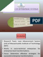 Principles of Enterprise Systems