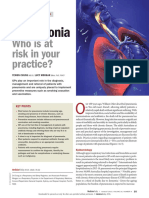 Pneumonia - Who is at Risk in Your Practice