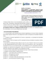 Edital 001 2014 Defensoria Publica Estado Goias Defensor Publico Geral Retificado 123