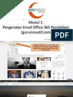 Modul 1 - Membuka E-Mail Office 365 Pendidikan (Guruinovatif.com)