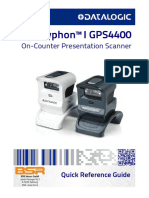 Quick Reference Guide Gryphon GPS4400 B En
