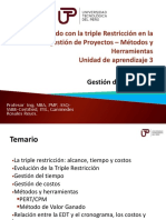 Direccion de Proyectos - Unidad 3 2018-II-A