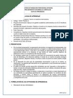GFPI-F-019 Formato Guia de Aprendizaje 9- Realizar Eventos