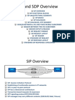 SIP and SDP Overview1