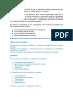 Planificación de La Investigación Cuantitativa