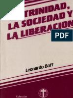 Boff L. La trinidad, la sociedad y la liberación.pdf
