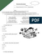 62466400 Evaluacion Lenguaje Tercero Basico