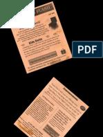 BOLETIM PAPEL FAIRWAY MODELO ATUAL REFERENCIA INFORMACOES