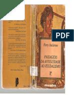 ANDERSON, Perry. Passagens Da Antigüidade Ao Feudalismo