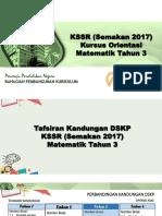 03 - Kandungan DSKP KSSR (Semakan 2017) Matematik Tahun 3
