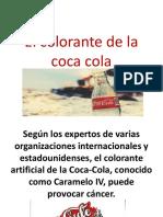 El Colorante de La Coca Cola