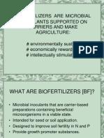 Notes on Biofertilizer