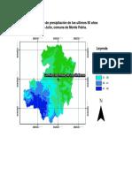Analisis de Precipitaciones Mes de Julio