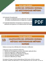Método de Westinghouse Laboratorio