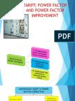 TARIFF, POWER FACTOR AND POWER FACTOR IMPROVEMENT GB170037 NURLIYANAIZZATI.pptx