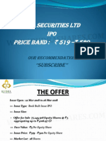 Icici Securities Rudra