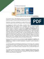 Día de La Constitución Política de Guatemala