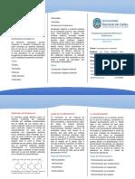 Tríptico de Materiales Polímeros y Compuestos Tecnología de Los Materiales