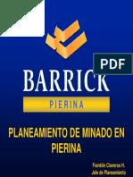 01-PL01 Planeamiento de Minado en Pierina-PERU
