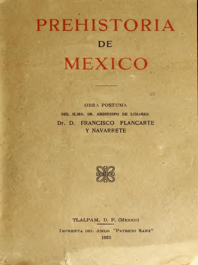 De México Navarrete DrDFrancisco Prehistoria Y Placarte zMGqSUpV